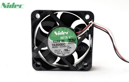 Original NIDEC 5015 H35520-58 DC 12V 50mm 5cm 0.024A 3Wire server inverter computer cpu case axial Cooling Fan
