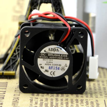 Free Delivery. New AD0412MB - C50 12 v 0.08 A 40 fans Double ball bearing cooling fans
