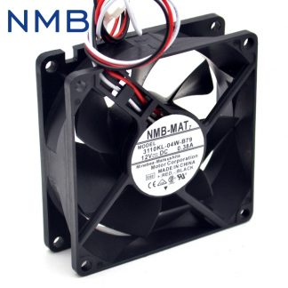 Free shipping New 3110KL-04W-B79 8025 12V 0.38A ultra-durable double ball bearing fan for NMB 80*80*25mm