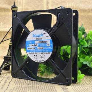 Free Delivery.BT2 P/N 125 b2h 2 ~ 240 v 19 w 125 double ball bearing cooling fans