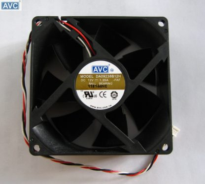 Wholesale AVC DA09238B12H 9238 DC 12V 90mm 92mm 1.35A Dual Ball Bearing Server Cooling Fan