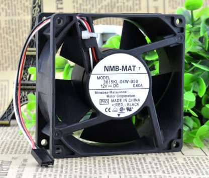 NMB 90*90*38 9CM 3615KL-04W-B59 12V 0.60A three line need large amount of wind fan