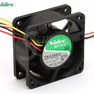 Nidec B34605-33 TA225DC 60mm 6cm 12V 0.58A 60x60x25mm 3-pin server inverter cooling fans