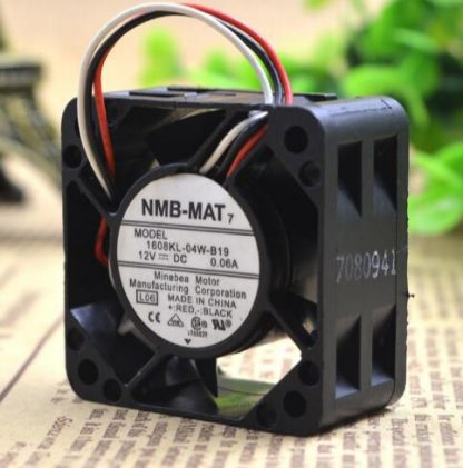 Wholesale: NMB-MAT 1608KL-04W-B19 4CM 40*40* DC 12V 0.06A 3 wire switch cooling fan
