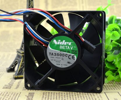Wholesale: 92*92*38 12V 2.3A M35291-35 9cm Nidec 4 line temperature control speed fan P2780