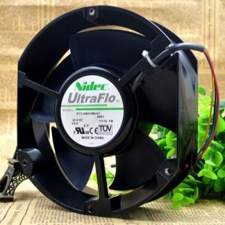 Nidec X17L24BS1M5-07A041 17250 DC 24V 3.8A 17250 17CM Axial Flow Cooling Fan