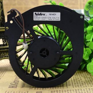 Nidec G80E12NS1ZN-56J14 12V 1.65A large projector TV cooling fan
