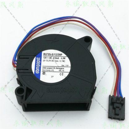 Ebm-papst RLF35-8/12/2HP RLF35-8 12 2HP DC 12V 410mA 4.9W 50X50X15mm Server Blower fan
