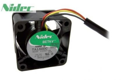 NIDEC TA150DC C34957-68 4028 40mm DC 12V 0.29A Dual ball bearing server inverter axial cooling fans