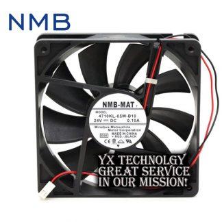 New nmb-mat7 4710KL-05W-B10 12025 12CM 24V inverter 0.10A cooling fan for