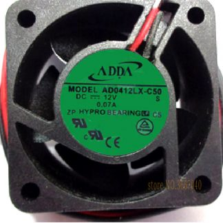 ADDA AD0412LX-C50 40*40*20mm 4cm 4020 DC 12V 0.07A Server Inverter cooling Fan