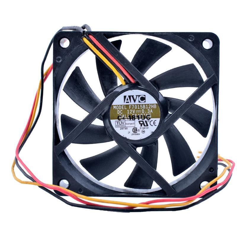 AVC F7015B12HB DC 12V 0.30A CPU server fan
