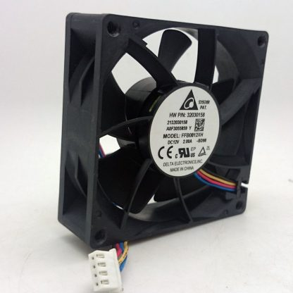Delta FFB0812XH 80*80*25mm 8cm DC 12V 2A 4 Lines Powerful Pwm Axial Server High Speed Big Air Volume Violence Cooling Fan