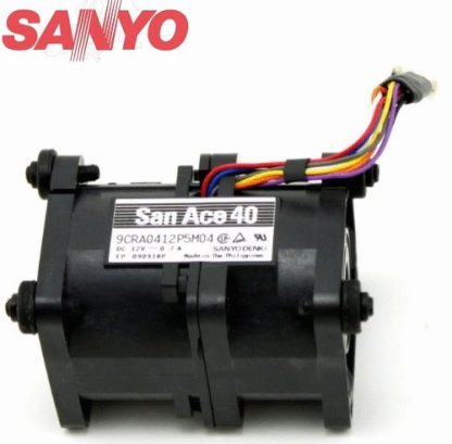 Sanyo 9CRA0412P5M04 40x40x56 mm 4056 12V 0.7A 4Pin pwm server inverter axial Case cooling Fans