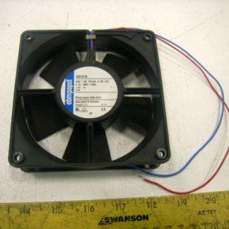 """EBM-PAPST 9-7/8"""" Round Axial Fan, 115VAC, W1G0-EC91-27, Motor: M1G055-BD - New"""