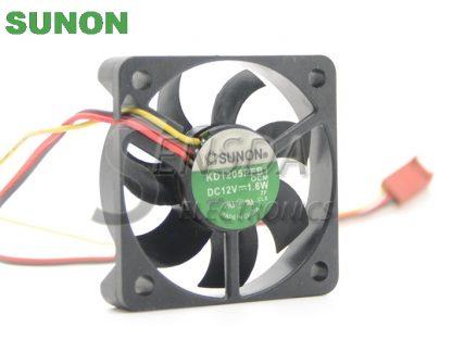 Sunon DC Fan KD15PFB1 5x5x1 5cm DC12V 1.6W Axial Cooling fan