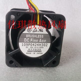 Sanyo cooling fan 109P0424H302 24V 0.095A 40*40*28 mm fan 4CM