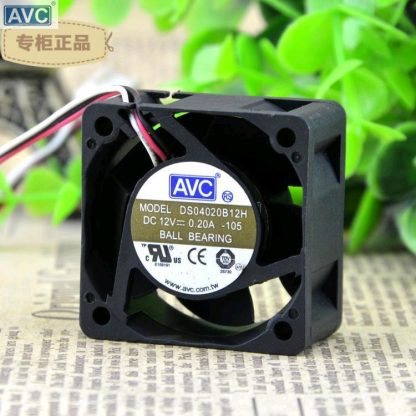 AVC DS040B12H 4cm 1U server fan switch 40 12V 0.A axial cooling fan