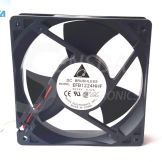 DELTA EFB1224HHF 132 12cm 24v 0.42A server inverter axial cooling