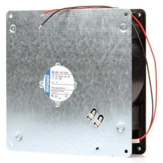 "Ebm-Papst  RG125-19/12N 12VDC 7"" Square Flatpack Axial Fan"