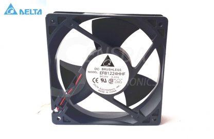 DELTA EFB1224HHF 132 12cm 24v 0.42A server inverter axial cooling