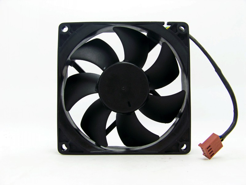 AVC DS09225R12HP207 90mm 9cm DC 12V 0.41A PWM Hydro Bearing computer pc case axial cooling fan
