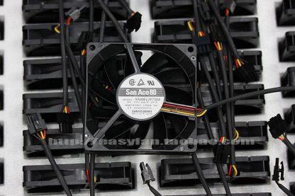 NEW SANYO DENKI SAN ACE 8CM 4PIN 8015 PWM 9PH0812P7S04 slim cooling fan
