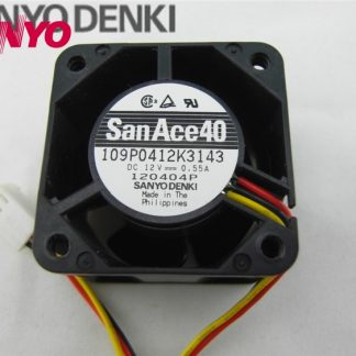 For SANYO 109P0424F329 DC24V 0.055A 40*40*28MM Axial Fan cooling fan