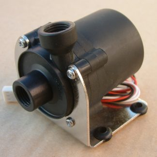 12v Water Pump G1/4'' Internal thread With The Sheetmetal Bracket for DIY computer water cooling cooler