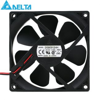 Delta DSB0912HH 9225 DC 12V 0.30A 2-pin 92*92*25mm Server Square axial cooling fan