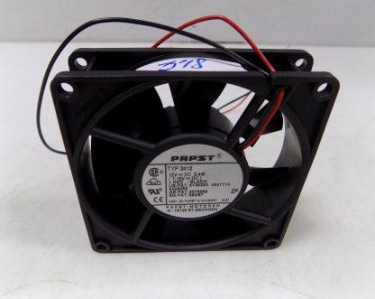 PAPST 12VDC 2.4W COOLING FAN TYP 3412 NNB