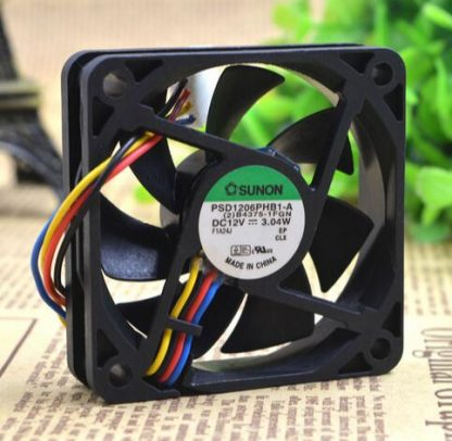 SUNON 60*60*15 PSD16PHB1-A 12V 3.04W four line server chassis small axial flow fan
