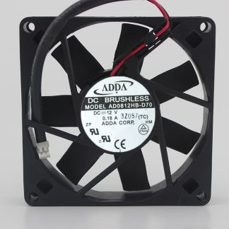 Brand New Original 8015 AD0812HB-D70 DC12V 0.18A Ball Cooling Fan