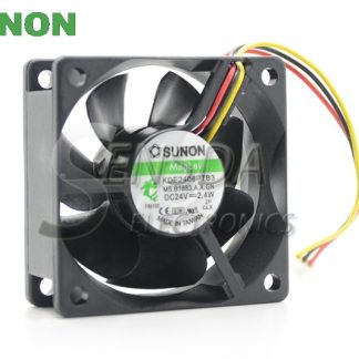 SUNON fan KDE2406PTB3 6CM 6*6 60*60*25MM 6025 24V 2.4W axial cooling cooler