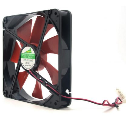 18 High Quality Best silent quiet 140mm pc fan cooling fans 14cm DC 12V 4D plug computer cooler for video card thermo pasta
