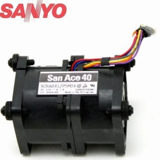 Sanyo 109P0624S7D03 A90L-0001-0552#A Fan 6015 24V 0.08A axial cooling fan