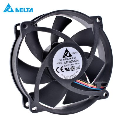 DELTA AFB09512H 9225 8025 92mm fan 9cm 12V 0.30A Double ball bearing 4pin computer CPU cooler replacement cooling fan