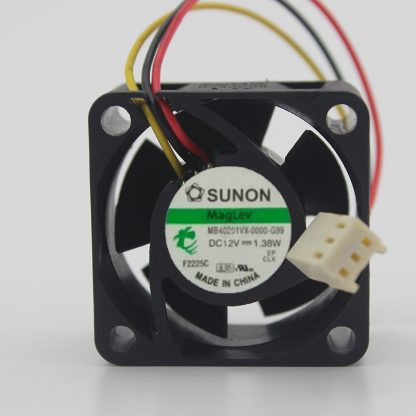 Original SUNON MB401VX-0000-G99 40*40*MM 4CM DC12V 1.38W Fluid Bearing Case Axial Cooling Fan