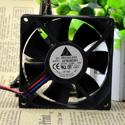 AFB0805H Delta 8025 5V 8CM double ball-bearing 35.31CFM 3000RPM axial cooling fan