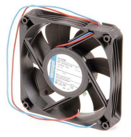 "Ebm-Papst 4-2/3"" Square Axial Fan 24VDC 4414FNH"