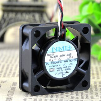 The original NMB 1606KL-04W-B59 12V 0.11A 40*40*15MM ball axial flow fan