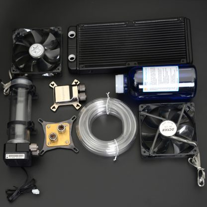 Syscooling pc water cooling, liquid computer cooler kits, water block gpu
