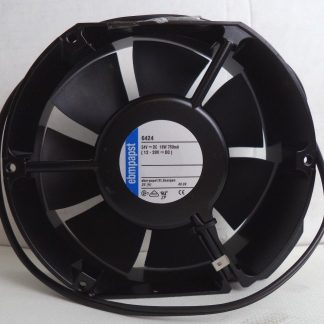 ebm-papst 12-28 NOMINAL VDC, 18W 750 mA AXIAL COMPACT FAN, P/N 6424