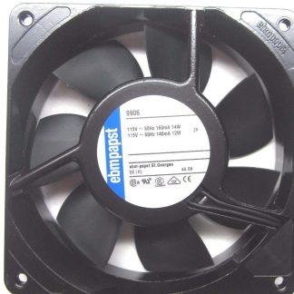 ebm papst 5908 W2K121-AA15-13 Fan 115V 50Hz 18 W/GRATE