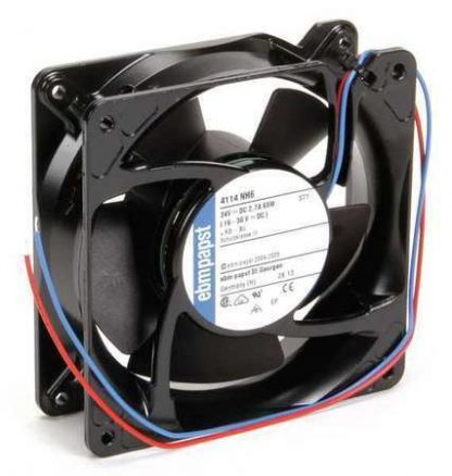 "Ebm-Papst 4-2/3"" Square Axial Fan 24VDC 4114NH6"