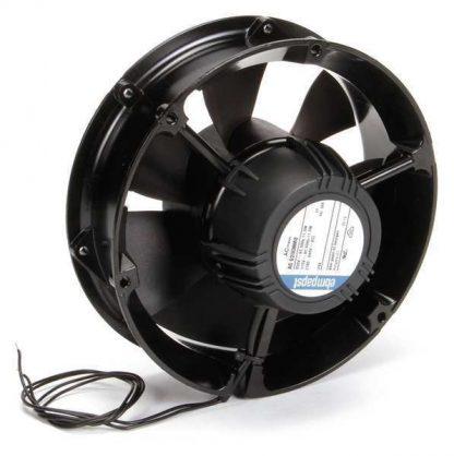 "Ebm-Papst 6-3/4"" Round Axial Fan, 115/230 ACVAC, AC60NMU-006"