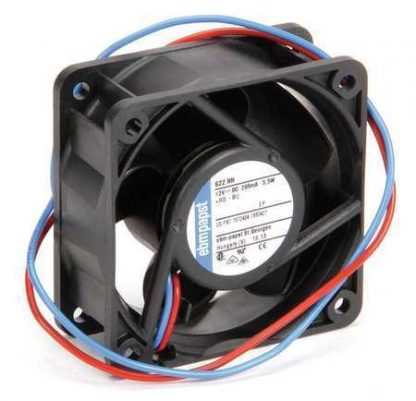 "Ebm-Papst 2-1/3"" Square Axial Fan 12VDC 622HH"