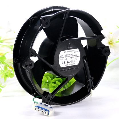 Delta EHB1748EHG BKV301216/130 metal Cooling Fan 48V 1.44A 172x172x51mm 4-Wire