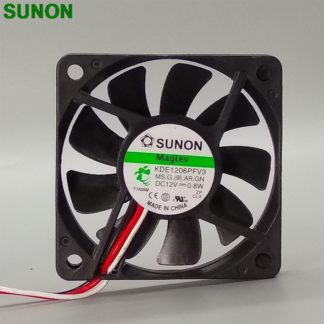 SUNON KDE16PFV2 6cm 12V 1.0W slim 60*60*10mm magnetic bearing cooling fan