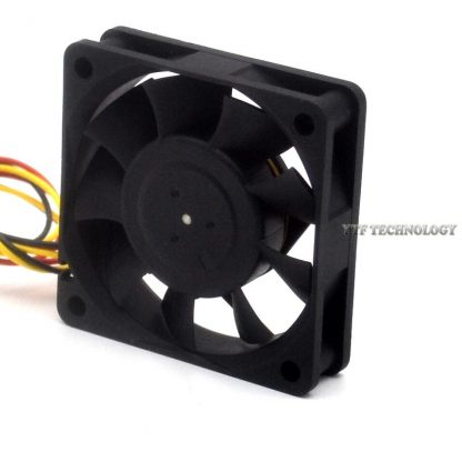 NMB 2406KL-04W-B36 dual ball bearing cooling fan 12V 0.14A 60*60*15mm